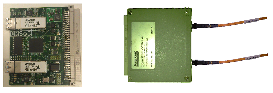 TMCO1 PCB module - Invensys - developed by ORSoC - OpenRISC processor inside